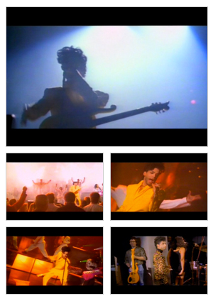 The Continental music video selected snapshots