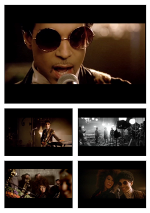 Rock And Roll Love Affair music video selected snapshots