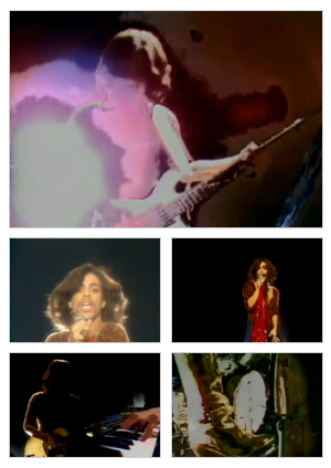 I Wanna Be Your Lover music video selected snapshots