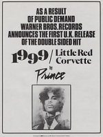Smash Hits press advert for 1999 reissue published in January 1985